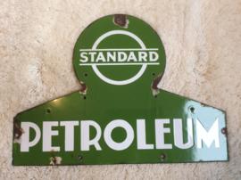 Emaille reclamebord, Standard Petroleum
