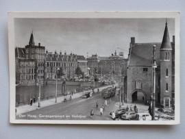 Den Haag, Gevangenpoort en Hofvijver, 1956