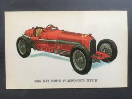 """Alfa Romeo P3 Monoposto Type """"B"""" 1934"""