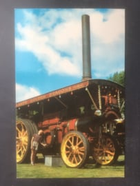 "Burrell Showmans Traction Engine ""Golden Dragon"""