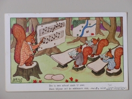 Eekhoorntjes afz Amsterdamse meisje (1940)
