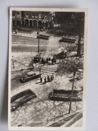Arnhem, Willemsplein met voetgangerstunnel 1956