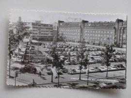 Utrecht, Vreeburg met Jaarbeursgebouw  (1968)
