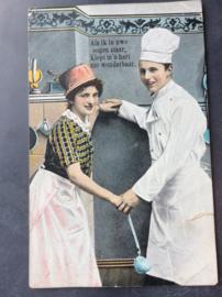 Als ik in uwe ogen staar, 1908
