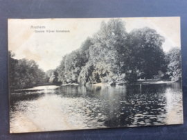 Arnhem, Groote Vijver Sonsbeek, 1917