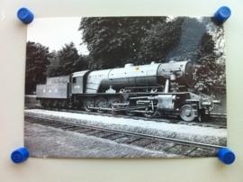 """Locomotief """"Longmoor"""" 1945 (kaart B)"""