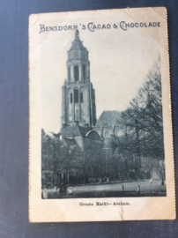 Arnhem, Groote Markt, Bensdorps Cacao & Chocolade