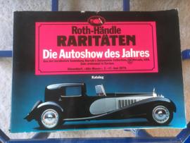 Roth-Handle Raritaten, Die Autoshow des Jahres, Juni 1979