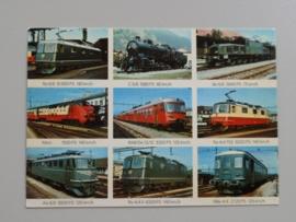 Schweizer Lokomotiven, Swiss Locomotives