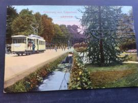 Arnhem, Velperweg met Velperbeek, 1914