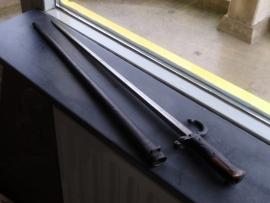 Bajonet for the M 1874 Gras Rifle