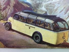 Mit dem Postauto uber die Grossglockner-Hochalpenstrasse