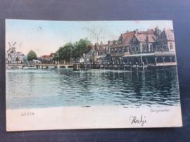 Leiden, Galgewater, 1906, ingekleurd