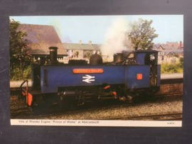 """Vale of Rheidol Engine """"Prince of Wales""""at Aberystwyth"""