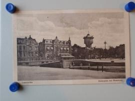 Leeuwarden, Zuiderplein met watertoren