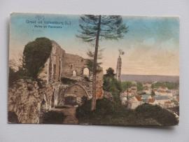 Valkenburg, Groet uit, Ruine  (1913)