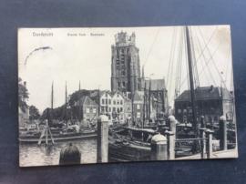 Dordrecht, Groote Kerk-Bomkade, 1917