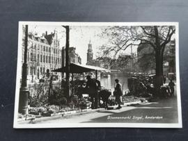 Amsterdam, Bloemenmarkt Singel (1951)