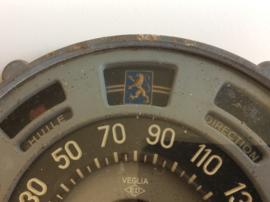 Peugeot dashboard Veglia meters