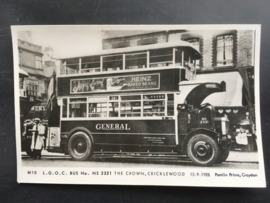 Bus No. NS 2321, The Crown , Criklewood, 15.9.1928