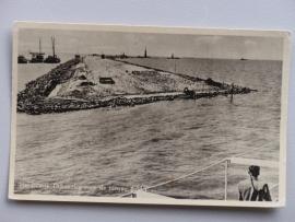 Harderwijk, Dijkaanleg voor de nieuwe Polder (1952)