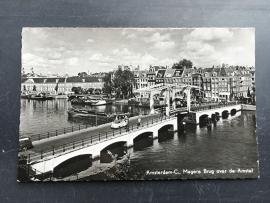 Amsterdam-C, Magere brug over de Amstel (1956)
