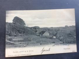 Wageningen, Zandgat, Gezicht op de Veluwe, rond 1910