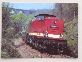 Dieselhydraulische Lokomotive 112 565-7