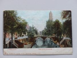 Utrecht, Oude Gracht, Weesbrug  (1905)