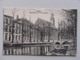 Leiden, Rapenburg met Universiteit