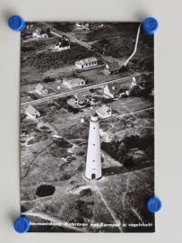 Schiermonnikoog, Watertoren met karrepad in vogelvlucht