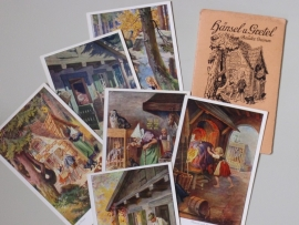 Duitse seriekaarten over sprookjes