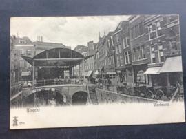 Utrecht, Vischmarkt, rond 1910