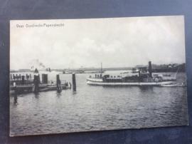 Dordrecht, Veer Dordrecht-Papendrecht, 1916, afvaart
