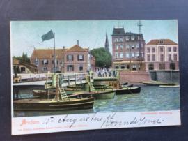 Arnhem, Openstaande schipbrug, 1907