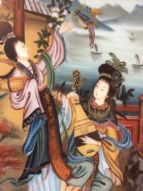 Achter glas schildering, China (1970-1980) Nr 2