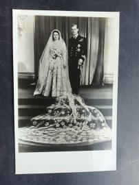 Hertog van Edinburgh en zijn jonge bruid