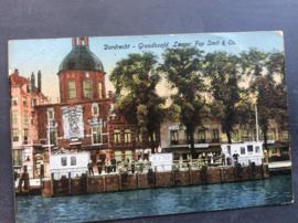 Dordrecht, Groodhoofd. Leager Fop Smit & Co, 1916