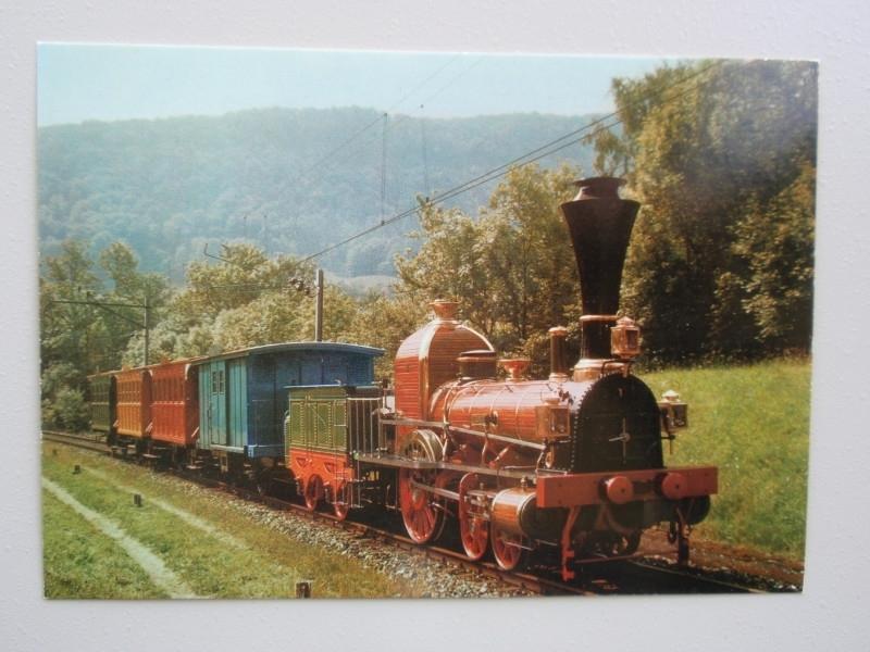 """""""Spanische-Brotll-Bahn"""", 1847 erste Eisenbahn der schweiz"""