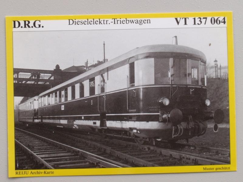 Dieselelektr.-Triebwagen