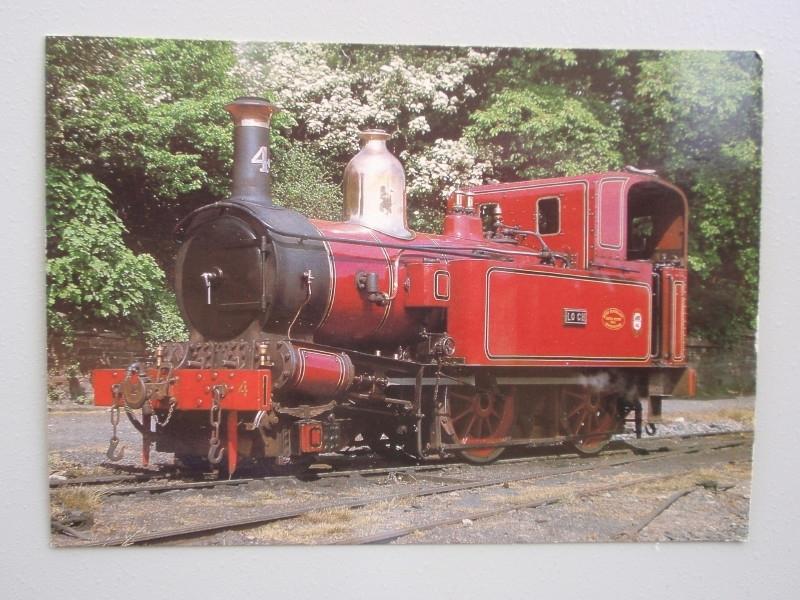"""Eiland Man Spoorwegmaatschappij Locomotief nr 4 """"Loch"""""""