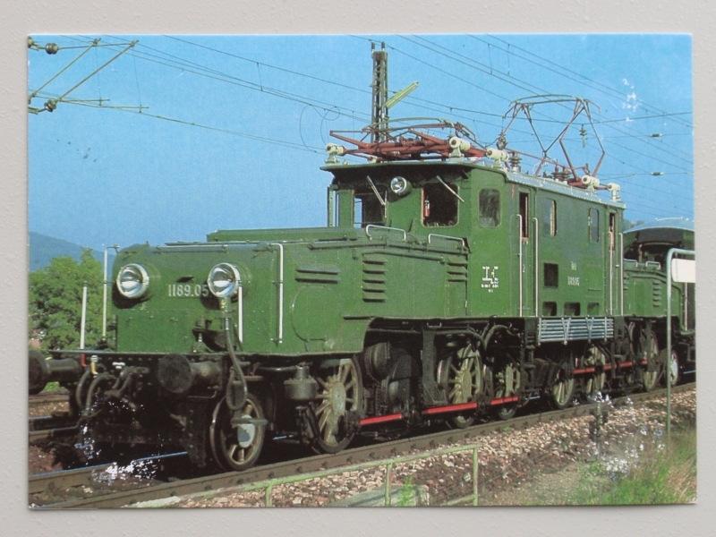 Elektrolokomotive 1189.05