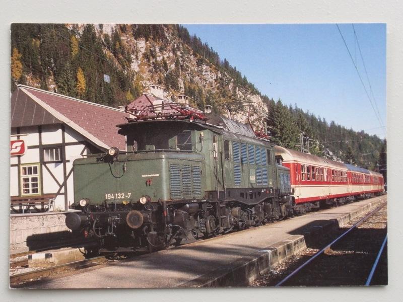 Elektro-Guterzuglokomotive 194 132-7