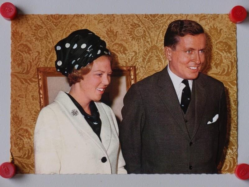 Prinses Beatrix en de Heer Claus von Amsberg
