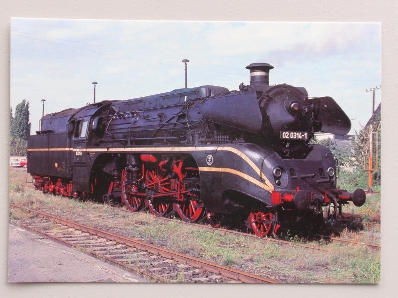 Dampf-Schnellzuglokomotive 02 1314-1