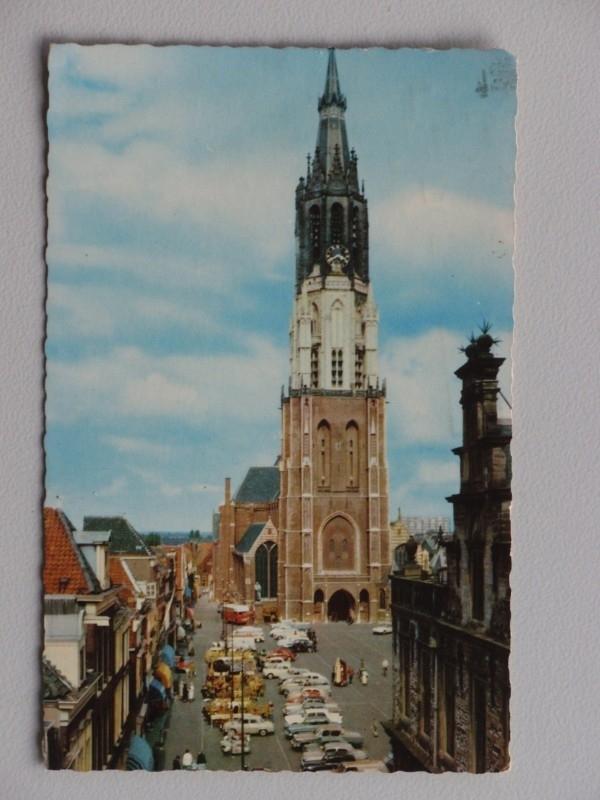 Delft, Markt met Nieuwe Kerk