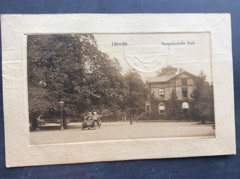 Utrecht, Hoogelandsche Park, 1911