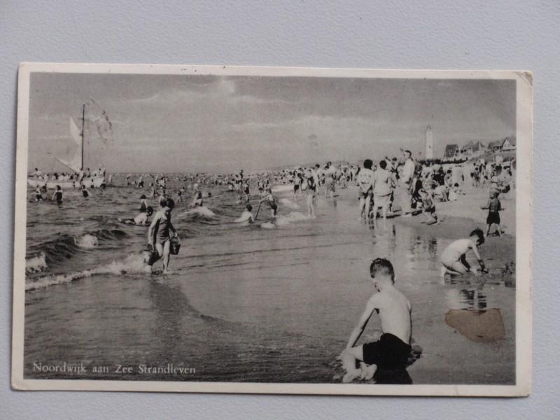 Noordwijk aan Zee, Strandleven (1954)