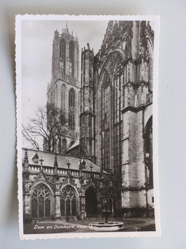 Utrecht, Dom en Domtoren  (1956)