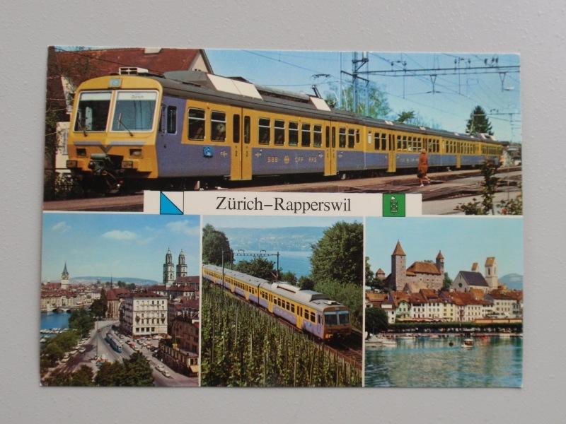 Der Goldkustenexpres der SBB, Zurich-Rapperswil